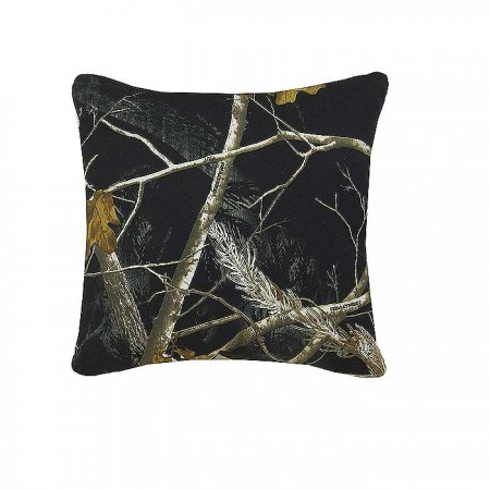 AP Black and White Camo 18 X 18 Square Pillow