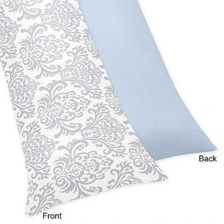 Avery Blue Body Pillow Cover
