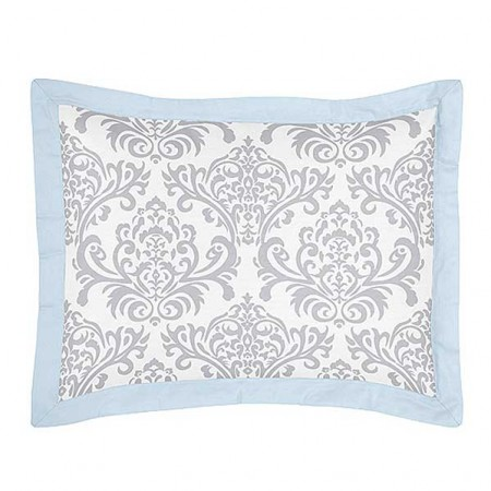 Avery Blue Pillow Sham