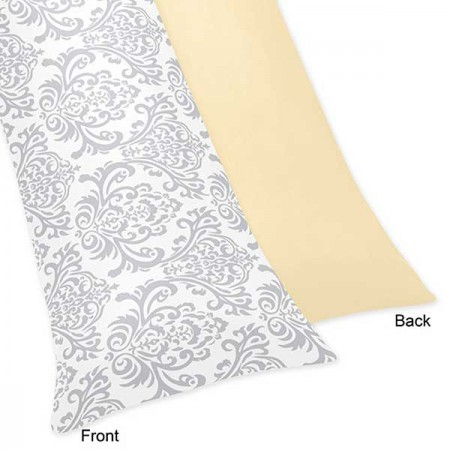 Avery Yellow Body Pillow Cover