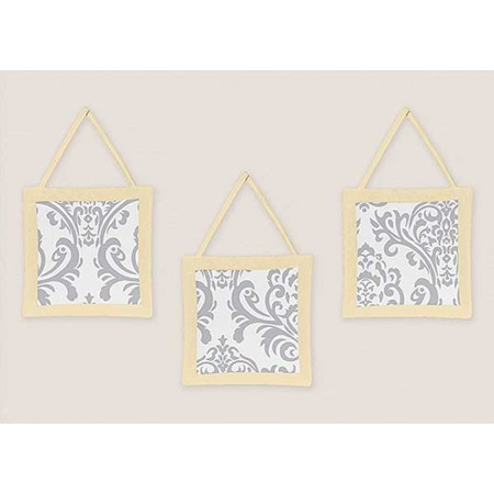 Avery Yellow Wall Hanging