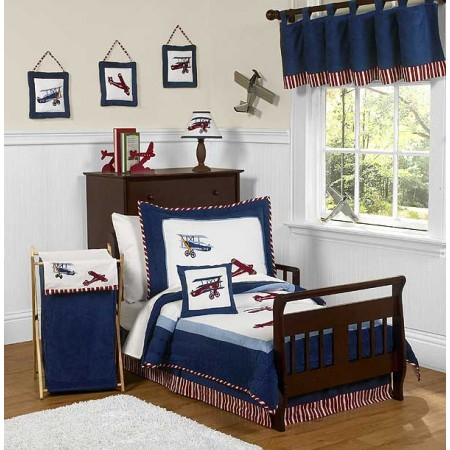 Aviator Toddler Bedding Set By Sweet Jojo Designs