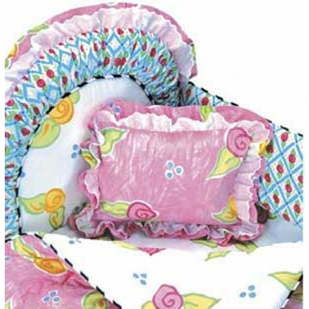 Amanda 4 Piece Standard Crib Bedding Set by California Kids