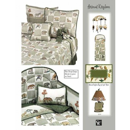 Animal Kingdom Summer Blanket