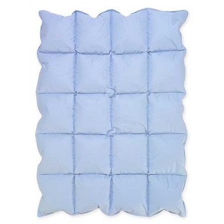 Toddler Size Alternative Down Comforter - Baby Blue