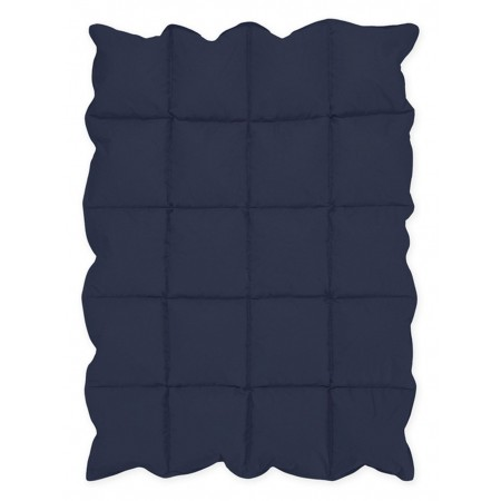 Navy Blue Down Alternative Comforter / Blanket - Crib Size