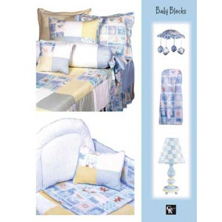 Baby Blocks Print Top Sheet - Crib Size
