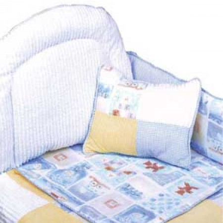 Baby Blocks Print Fitted Sheet - Crib Size