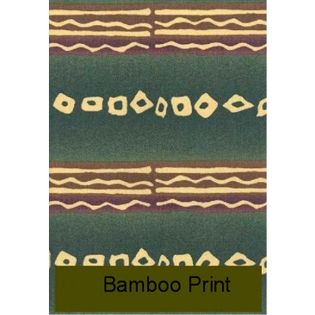 Bamboo Print Waterbed Sheet Set by Mayfield