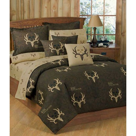 Bone Collector Comforter & Sham Set - Twin Size