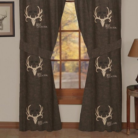 Bone Collector Curtain Panels