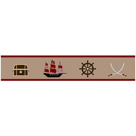 Pirate Treasure Cove Border