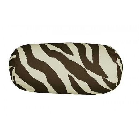 Brown Zebra Neckroll Pillow