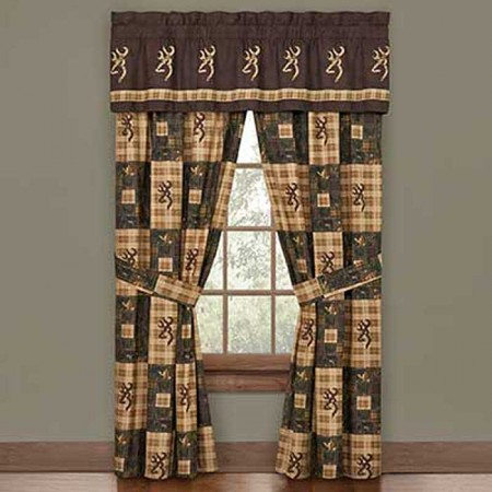 Browning Country Curtain Panels