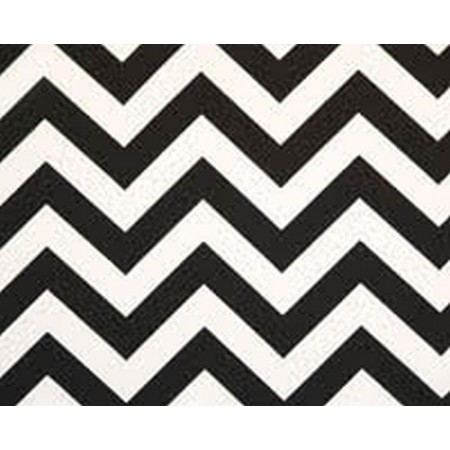 Zig-Zag Bunkbed Hugger Comforter by California Kids - Black & White