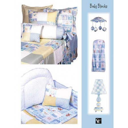 Baby Blocks Rod Pocket Drapes