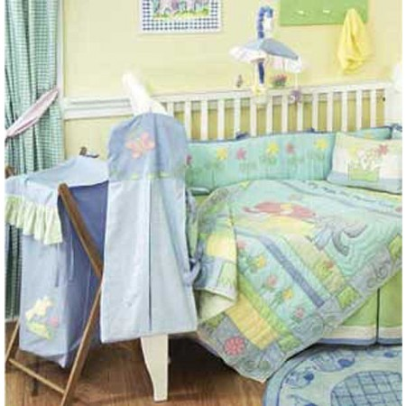 Baby Elephant 4 Piece Crib Bedding Set by California Kids
