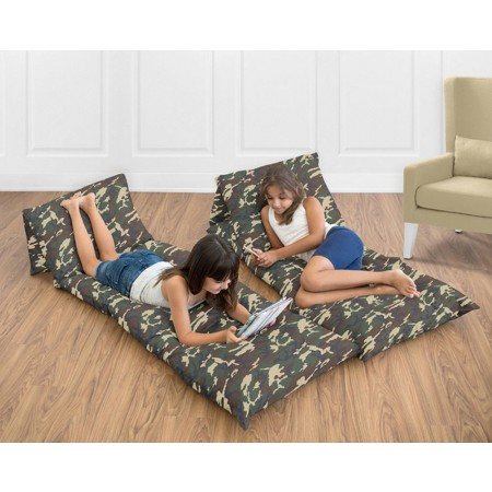 Camo Green Pillow Case Lounger