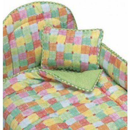 Candy Square Bunkie Comforter - Toddler Bedding