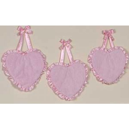 Chenille Pink Wall Hanging