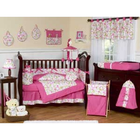 Circles Crib Bedding Set by Sweet Jojo Designs - 9 piece