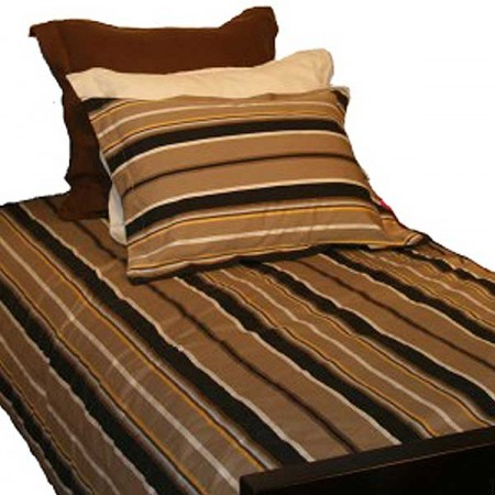 Coffee Bunkbed Hugger Comforter by California Kids