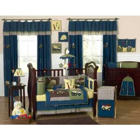 Construction Crib Bedding Set by Sweet Jojo Designs - 9 piece
