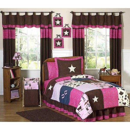 Cowgirl Western Bedding Set - 4 Piece Twin Size By Sweet Jojo Designs