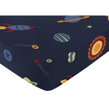 Space Galaxy Crib Sheet