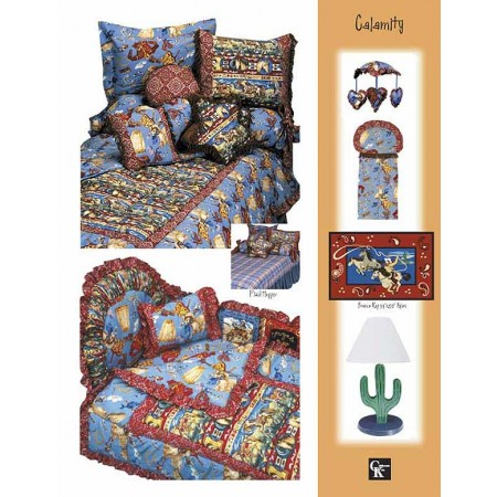 Calamity Print Top Sheet - Crib Size