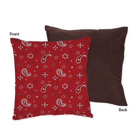 Wild West Cowboy Western Accent Pillow