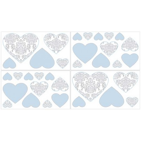 Avery Blue Wall Decals