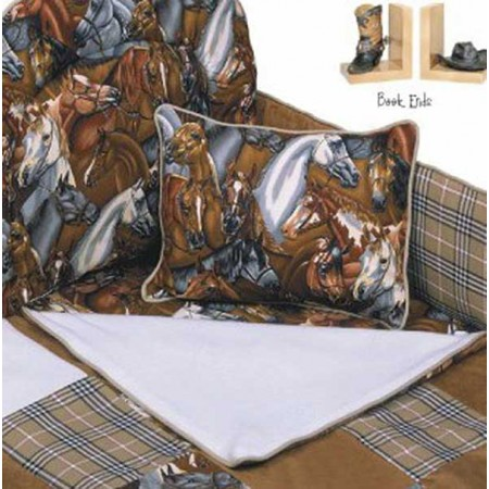 Derby 4 Piece Standard Crib Bedding Set by California Kids