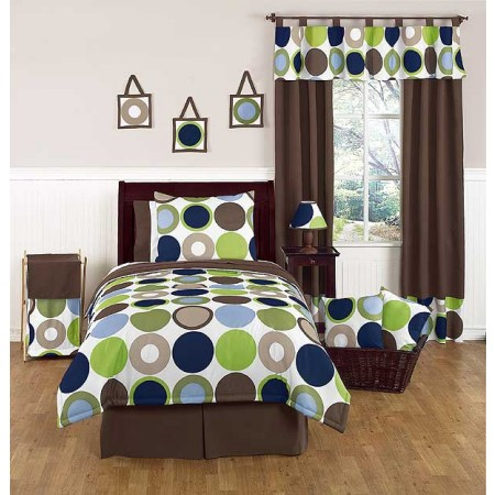 Designer Dot Comforter Set - 3 Piece Full/Queen Size By Sweet Jojo Designs