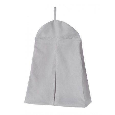Solid Gray Diaper Stacker