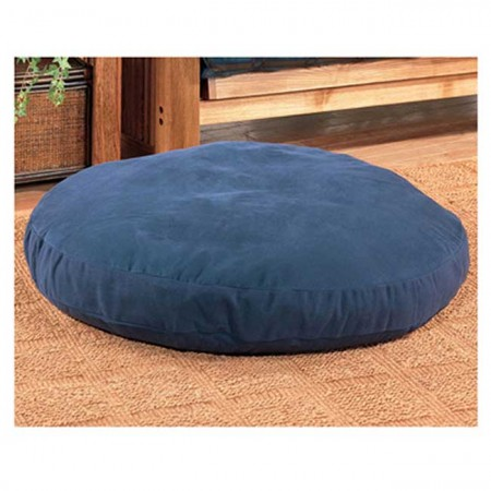 Round Dog Bed - Blue, Green or Tan