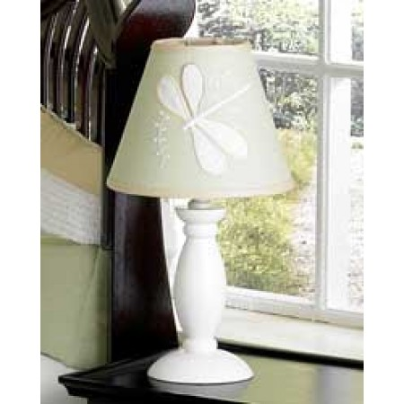 Sage Green Dragonfly Dreams Lamp Shade