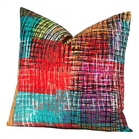 Crayola Etch Square Pillow - 20 X 20 Square