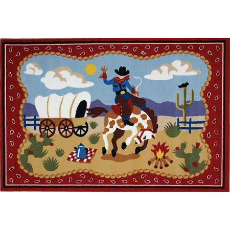 Olive Kids Ride Em Rug from Fun Rugs