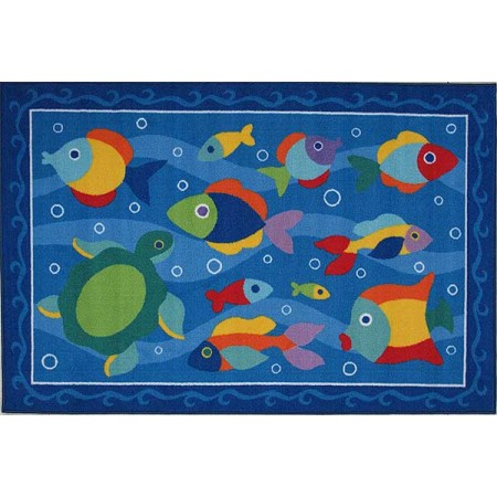 Somethin' Fishy Accent Rug