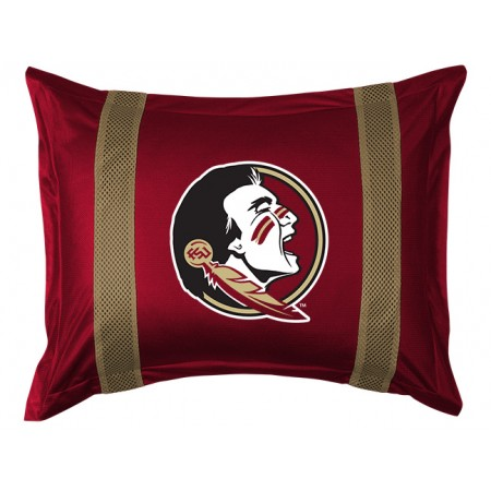 Florida State Seminoles Pillow Sham - Sideline Collection (New Logo)
