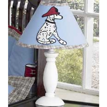 Frankies Firetruck Lamp Shade