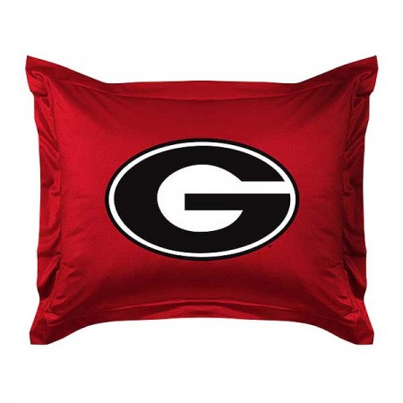 Georgia Bulldogs Locker Room Pillow Sham
