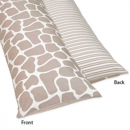Giraffe Body Pillow Cover by Sweet Jojo Designs