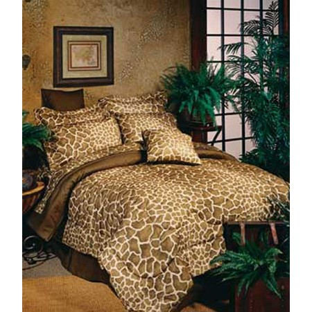 giraffe print bedding giraffe comforters california king crib sets teen bedding blanket. Black Bedroom Furniture Sets. Home Design Ideas