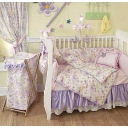 Glitter Fairy Bunkie Comforter - Toddler Bedding