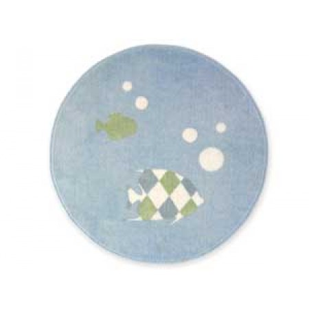 Go Fish Round Floor Rug
