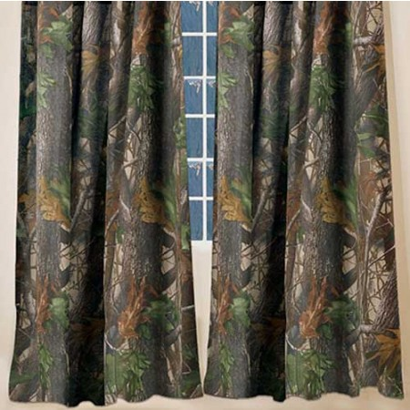 Realtree Hardwoods Camo Curtain Panels