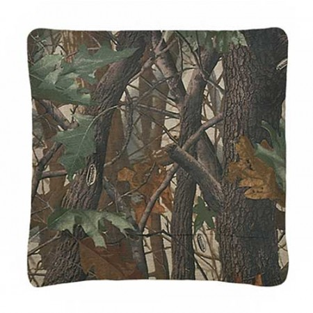 Realtree Hardwoods Camo Square Pillow
