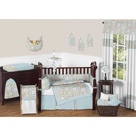 Hayden Crib Bedding Set by Sweet Jojo Designs - 9 piece